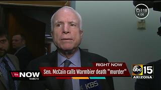 McCain says those going to N. Korea are