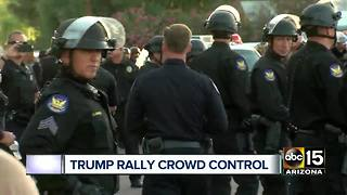 Counter-protests slated for President Trump's rally - Video
