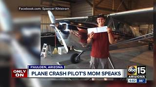 Plane crash pilot's mom speaks to ABC15 - Video