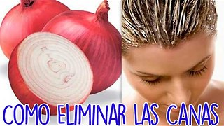 Como Eliminar Las Canas - Video