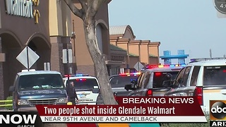 MORE: Police searching for suspects after shooting at Walmart - Video