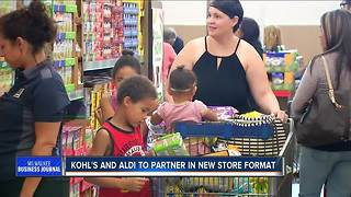 Kohl's teaming up with German grocer Aldi - Video
