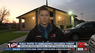 City of Bakersfield and MLK Community Initiative hold meeting to discuss new homeless shelter location