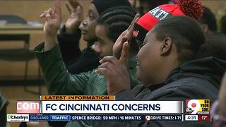 West End residents express concern about FC Cincinnati stadium - Video