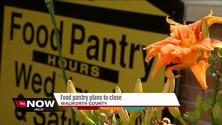 Food pantry in Walworth County in jeopardy