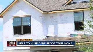 Help to hurricane proof your home - Video