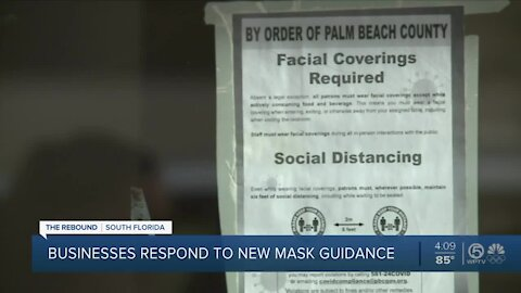 South Florida doctor says new indoor face mask recommendations are 'good news'