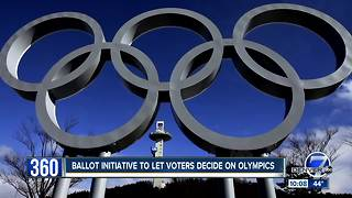 Olympic opponents submit proposed ballot initiative, want Denver voters to have a say - Video