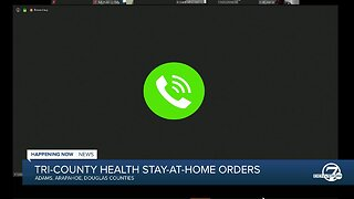 Tri-County Health Department announces new stay-at-home orders