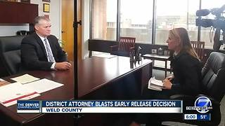 Weld County district attorney slams granting of parole for man convicted of attempted murder - Video