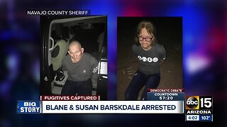 Escaped Tucson murder suspects Blane and Susan Barksdale in custody, sheriff's office says