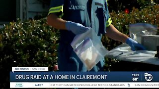 Authorities conduct drug raid at Clairemont home