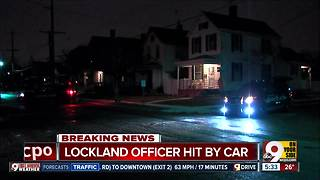 PD: Lockland police officer injured by another officer during foot chase - Video