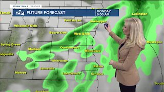 Cold Front Monday Brings a Blast of Cold