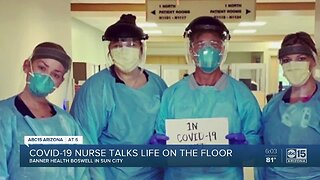 Nurse on a designated COVID-19 floor speaking out about working with coronavirus patients