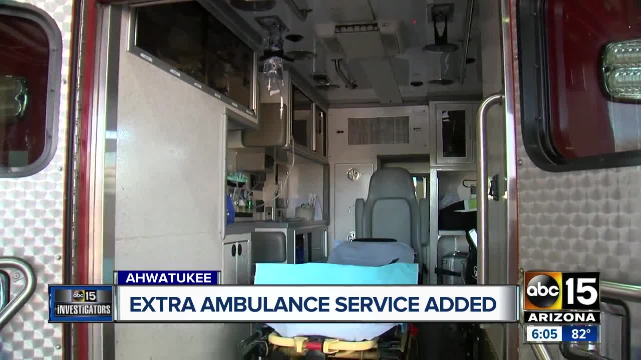 Fire department increasing ambulance service in Ahwatukee