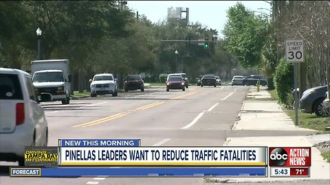Pinellas leaders hope to reduce fatal crashes by 17 percent