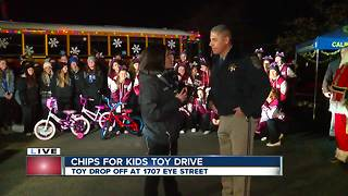 CHP's CHiPS for Kids is underway at 18th and H Streets - Video