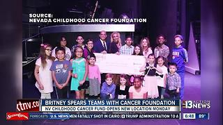 Britney Spears teams with Nevada Childhood Cancer Foundation - Video