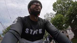 Northeast Ohio group bikes 330 miles across Ohio to highlight growing gun violence