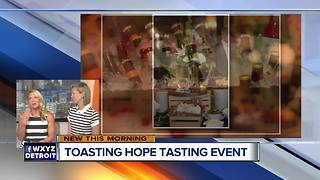 Toasting Hope Tasting Event - Video
