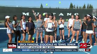 Female Athlete of the Week: Erica Paradise - Video