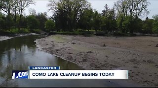 Como Lake cleanup begins today