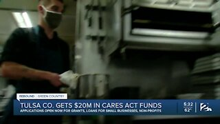 Tulsa County Small Business, Getting Cares Act Funds to Stay Open