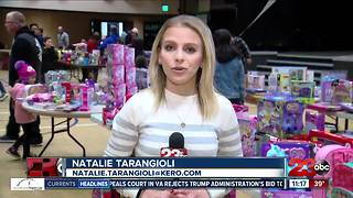 CHiPs for Kids event sends thousands of kids home with Christmas presents - Video