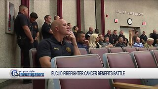 Euclid fights paying cancer benefits under Palumbo Act to longtime city firefighter
