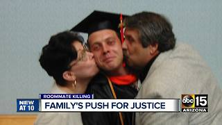 Family pushes for justice after son's death - Video