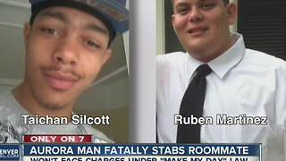 Aurora man who stabbed another man won't face charges under 'Make My Day' law - Video