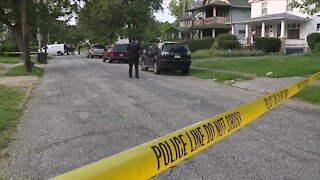 10-year-old boy hospitalized after being shot in the back in Cleveland