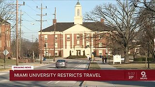 Miami University issues coronavirus travel advisory