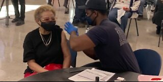 Pop up vaccine clinic in North Las vegas