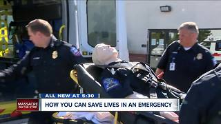 How you can save lives in an emergency - Video