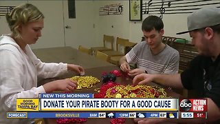 Hand over your Gasparilla beads to help people with autism and Down syndrome