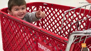 Boy who loves Target celebrates his birthday at his favorite place in the world | Hot Topics - Video