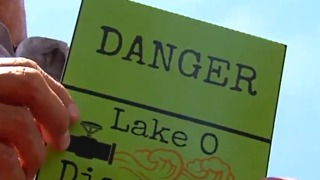 City removes fake warning signs - Video