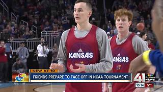 Friends prepare to face-off in NCAA Tournament - Video