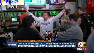 March Madness: UC, Xavier play in Nashville - Video