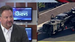 Randy Sutton comments on officer shot during suspicious vehicle stop in Las Vegas - Video