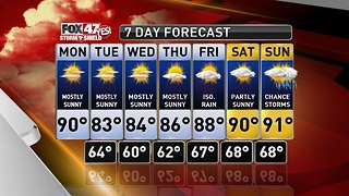 Claire's Forecast 7-8 - Video