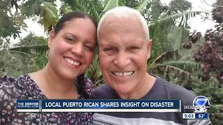 Colorado woman understands need for help in Puerto Rico after hurricane - Video