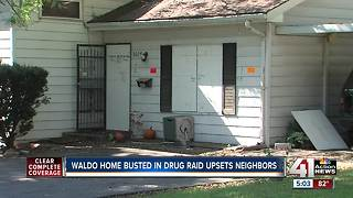 Neighbors grateful after problem house raided