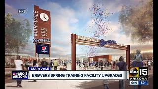 Maryvale Baseball Park to undergo $56 million upgrade after 2018 Spring Training - Video