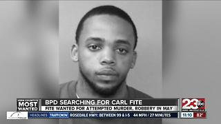 Kern County's Most Wanted: Carl Fite - Video