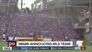 Miami's getting MLS franchise may be good news for FC Cincinnati - Video