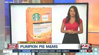 Pumpkin Pie M&M's and Starbucks PSL AT Home - Video