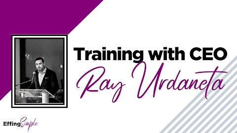 Training with Monat CEO Ray Urdaneta